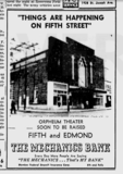 Orpheum brought down on15May1958