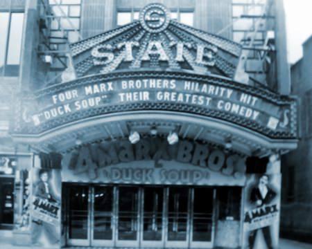 1933 image courtesy of Scott T. Rivers.