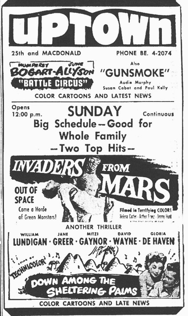 Newspaper Ad 1953