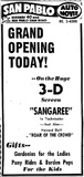 Grand Opening July 29, 1953