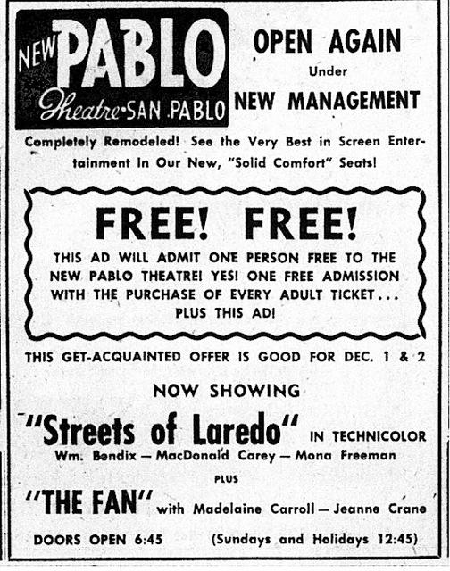 Under New Management 1949