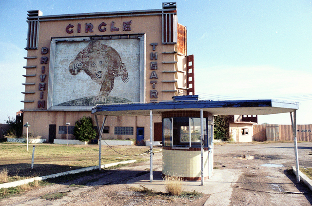 Circle Drive in Tower as seen circa 1982.