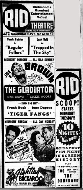 Wartime Programming at the Rio Grindhouse