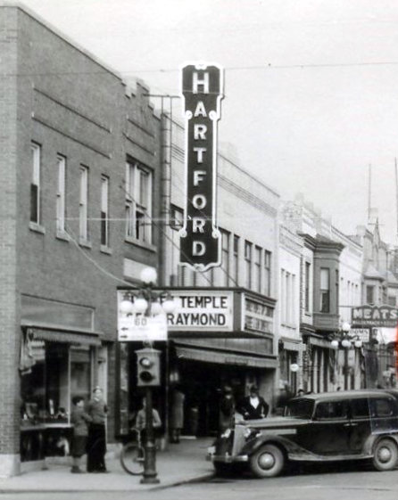 HARTFORD Theatre; Hartford, Wisconsin (1937).