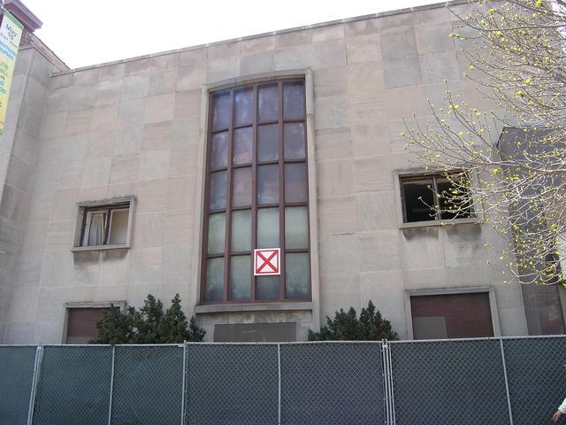 2014, under demolition.