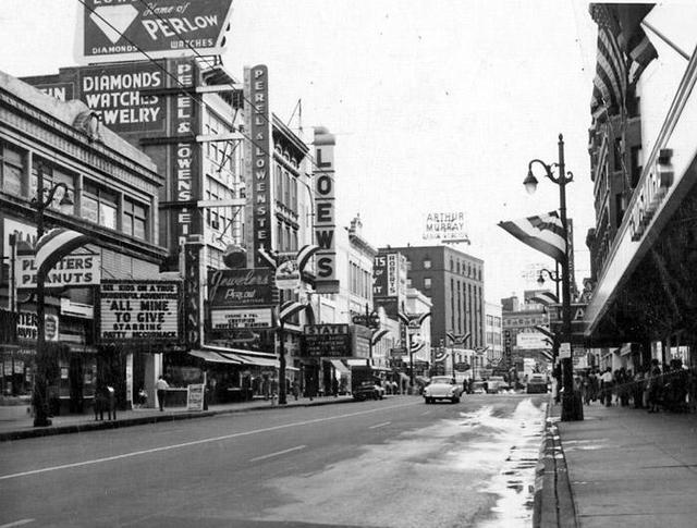 1957 photo courtesy of Kenneth McIntyre.