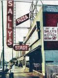 Sally's Stage with Plitt promo across from the Nortown. Image courtesy of Melody Russell Hiton.