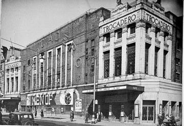 The Trocadero Theatre at Elephant And Castle