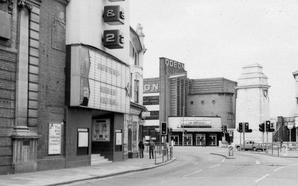 Coliseum/Studio 1 & 2/ Odeon cinema.