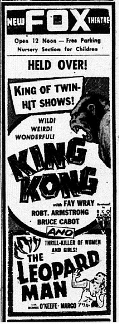 King Kong at the Fox