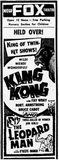 King Kong at the Fox