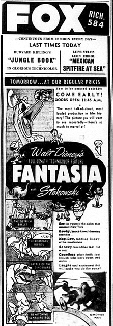Fantasia at the Fox