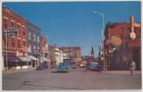 Paramount in the background. Mid `50's postcard courtesy of Robert G. Swan.