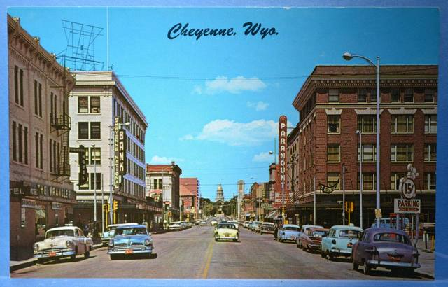 Mid `50's postcard courtesy of Robert G. Swan.