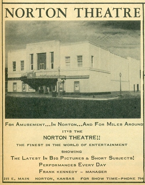 Image from the Norton Daily Telegram Trade Area Directory, 1956-1961.