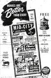 MID-CITY OUTDOOR Theatre; Kenosha, Wisconsin.