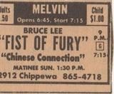 """[""""Kung Fu at the Melvin""""]"""