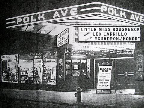 Vintage Polk Theater Photo
