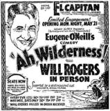 Will Rogers, in person, at the El Capitan