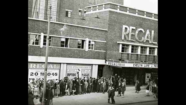 Regal Cinema on Opening Day 1934