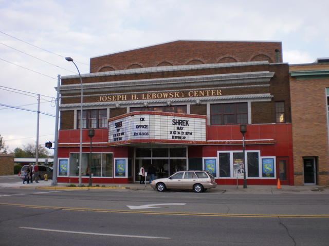 The restored Lebowsky Center