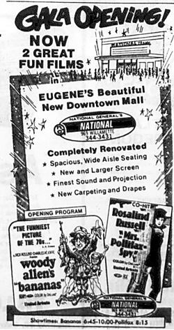 June 11th, 1971 grand opening ad as National