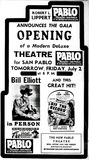 Grand Opening of the Pablo