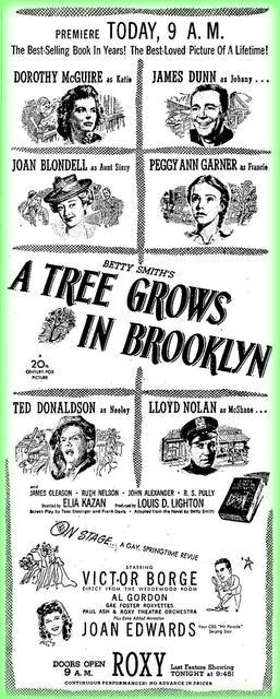Elia Kazan's first movie opens at the Roxy