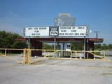 Admiral Twin Drive-In, Tulsa, OK.   Prior to Screen Fire