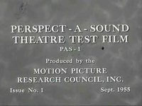 Perspecta Sound Test Film