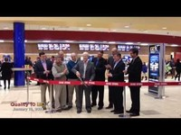 Ribbon cutting of the Quality 10 GDX in Saginaw, MI