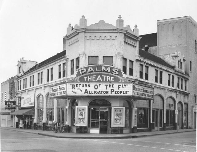 Palms Theatre In West Palm Beach Fl